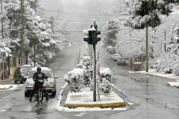Ηφαιστίωνας: Πολικό κρύο και θυελλώδεις ανέμοι από το απόγευμα